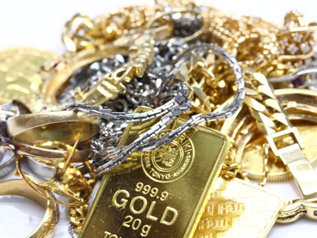 滋賀県で金の買取させていただきました金のネックレスをご紹介させていただきます